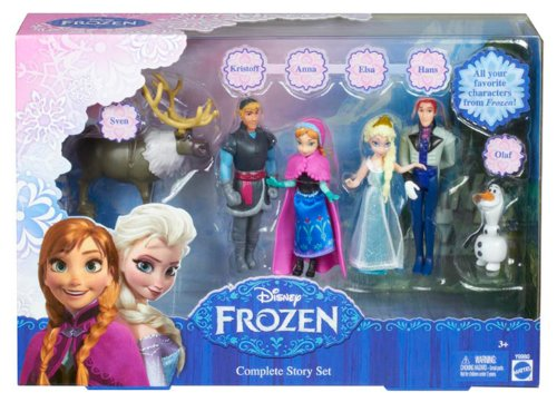 Disney Frozen Complete Story Playset (Discontinued by manufacturer)