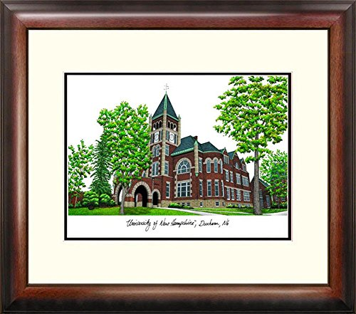 New Hampshire Wildcats Framed Lithograph Print by Landmark Publishing