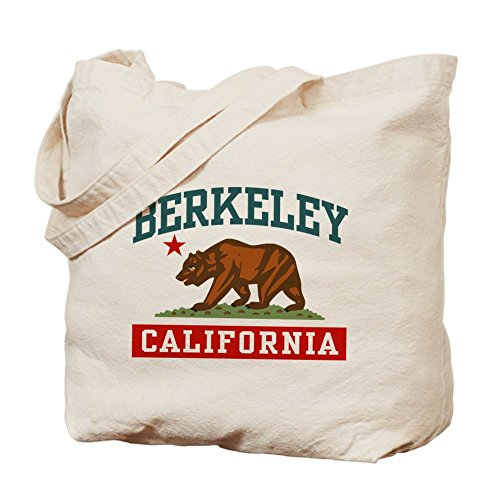 CafePress–Berkeley California–Gamuza de bolsa de lona bolsa, bolsa de la compra