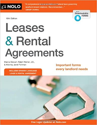 Amazon Com Leases Rental Agreements 9781413319392