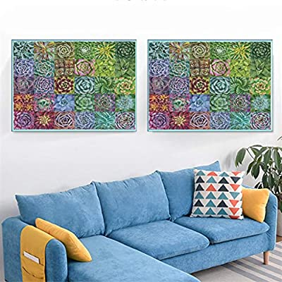 Succulent Plants 1000 Piece Adult Children Puzzle Pattern Toy Kids Educational Toy Set, Brain Iq Developing Toys for Adults Or Kids 14+ Ages: Toys & Games