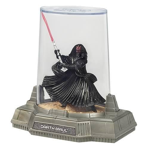 Star Wars Titanium Die Cast Darth Maul figura de acción