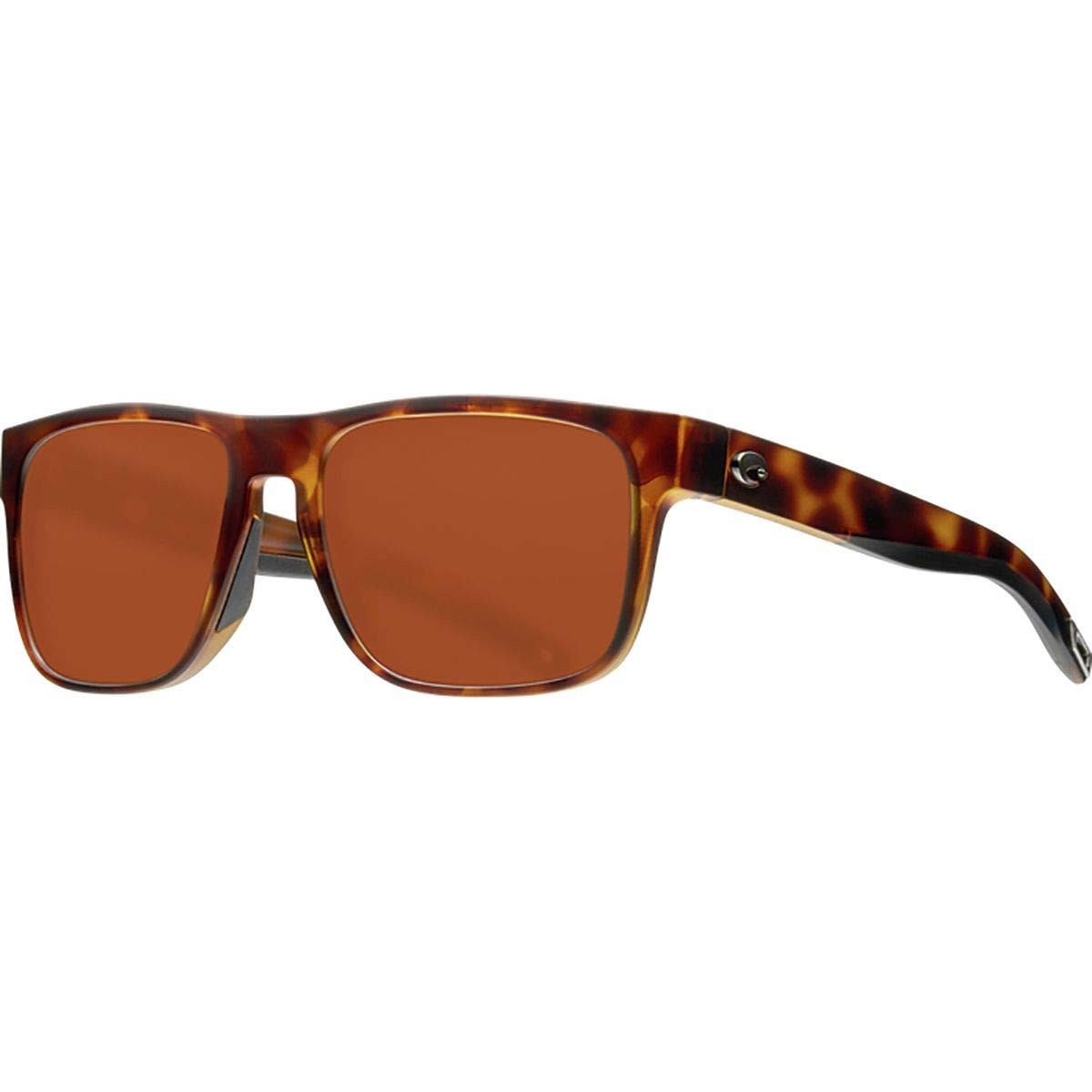 Costa Spearo 580G Polarized Sunglasses Matte Tortoise Frame/Copper 580G, One Size