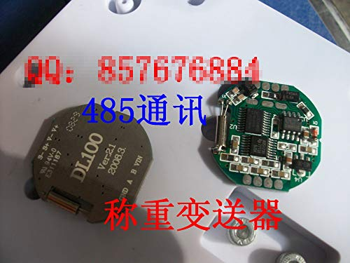 Fevas 1PCS X,Analog resistive Strain Gauge Sensor Transmitter Module 485 Digital Weighing Measurement DL101 Pressure Measurement, - 485 Transmitter Module