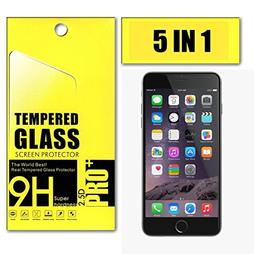 iPhone 6s Screen Protector, Bpoks Accessories 3-Pack Premium Tempered Glass Screen Protector...