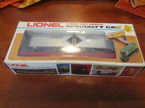 Lionel 9149 CP Rail Flat Car with Piggyback Vans O Gauge