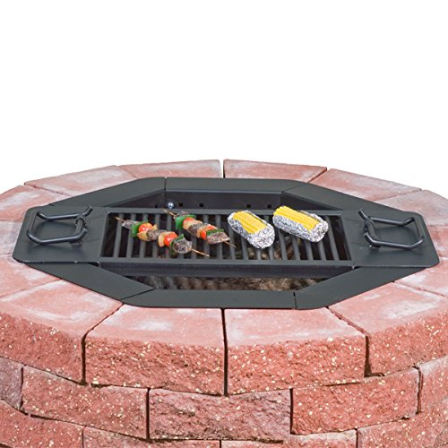 Amazon.com : Heavy Duty Bolt-Together Campfire Ring or Fire Pit Insert  Model IO-30/8 Park Grill - Made in the USA - : Garden & Outdoor - Amazon.com : Heavy Duty Bolt-Together Campfire Ring Or Fire Pit