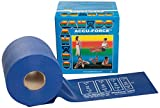 CanDo 10-5924 AccuForce Exercise Band, 50 yd Roll, Blue-Heavy