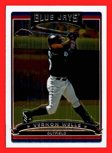 2006 Topps Chrome #97 Vernon Wells TORONTO BLUE JAYS