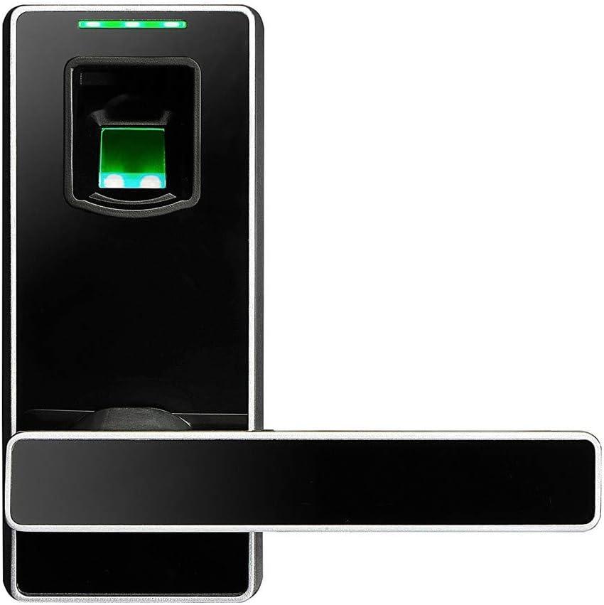 Serrure /à Cylindre Intelligent Scanner dempreintes digitales biom/étrique Intelligent sans cl/é Serrure de Porte /électronique /à Empreinte Digitale Mot de Passe Code de Verrouillage num/érique Porte de
