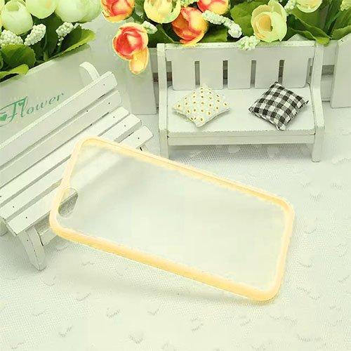 Monkey Cases® iPhone 6 - 4,7 Zoll - TPUCase for iPhone 6 - Transparent Matt - Creme Weiß - Handyhülle - ORIGINAL - NEU/OVP - Creme White