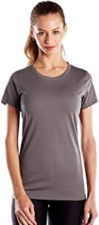 product image for US Blanks Ladies' 4.3 Oz. Short-Sleeve Crewneck S Asphalt