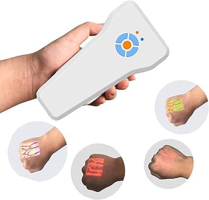 Haooyeah Vein Finder Vein Viewer Rilevatore Localizzatore Illuminazione Luci di visualizzazione , per flebotomia Clinica ospedaliera Facile da Usare Staffa Gratuita