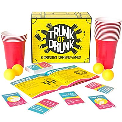 Trunk of Drunk – 8 Greatest Drinking Games (Beer Pong, Ring of Fire, Never Have I Ever and More)