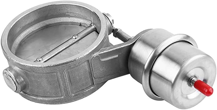 valvola di controllo dello scarico per auto 7,6 cm valvola di bypass in acciaio inox valvola di scarico attivata sotto vuoto Keenso