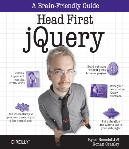 Head First jQuery (Brain-Friendly Guides) Pdf