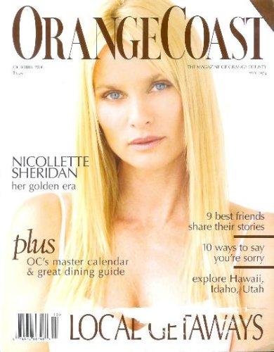 Orange Coast Magazine - October 2006: Nicollette Sheridan Cover