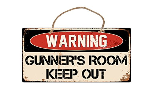 StickerPirate A406 Gunners Room Keep Out 5