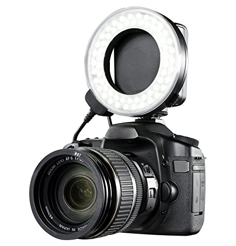Digital Macro Ring - Nikon D Series Dual Macro LED Ring Light/Flash (Includes Necessary Adapters/Rings for Mounting)