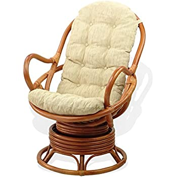 Amazon Com Lounge Swivel Rocking Chair Eco Natural