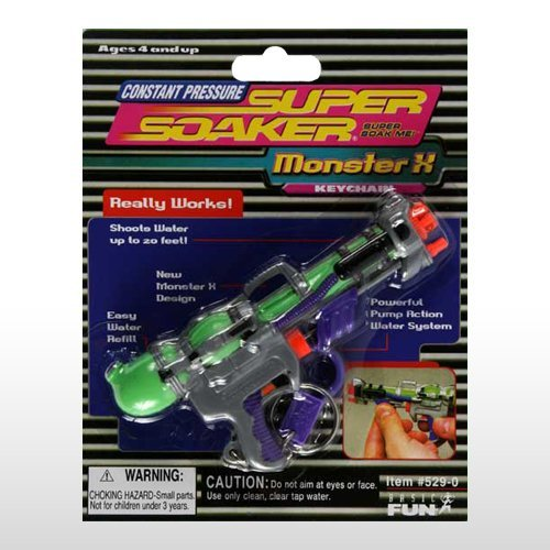 Super Soaker Keychain by pump action super soaker