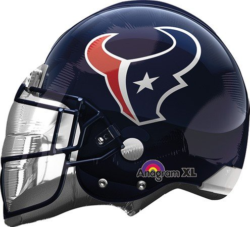 Anagram International Houston Texans Helmet Flat Party Balloons, 21