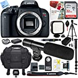 Canon EOS Rebel T7i Digital SLR Camera (Body) with Pro Carrying Case Plus 32GB Accessories Kit