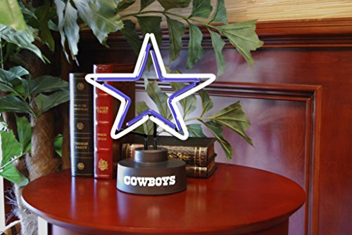 The Memory Company NFL Cowboys Neon Lamp, One Size, Multi (Clock Awesome Neon)