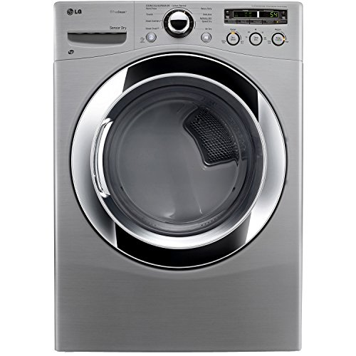 LG DLEX3250V 7.3 Cu. Ft. Ultra-Large Electric SteamDryer with Sensor Dry – Graphite Steel