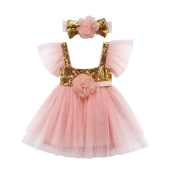 2e2784a0b077 THE LONDON STORE Baby Girl s Toddler Infant Newborn Princess Wedding ...