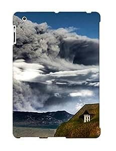 ELMCiTW5544cyEOJ Case Cover Protector For Ipad 2/3/4 Volcanic Eruption Case