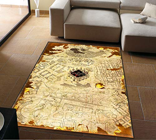 Personality Carpet Mats Harry Potter American Retro Magic World