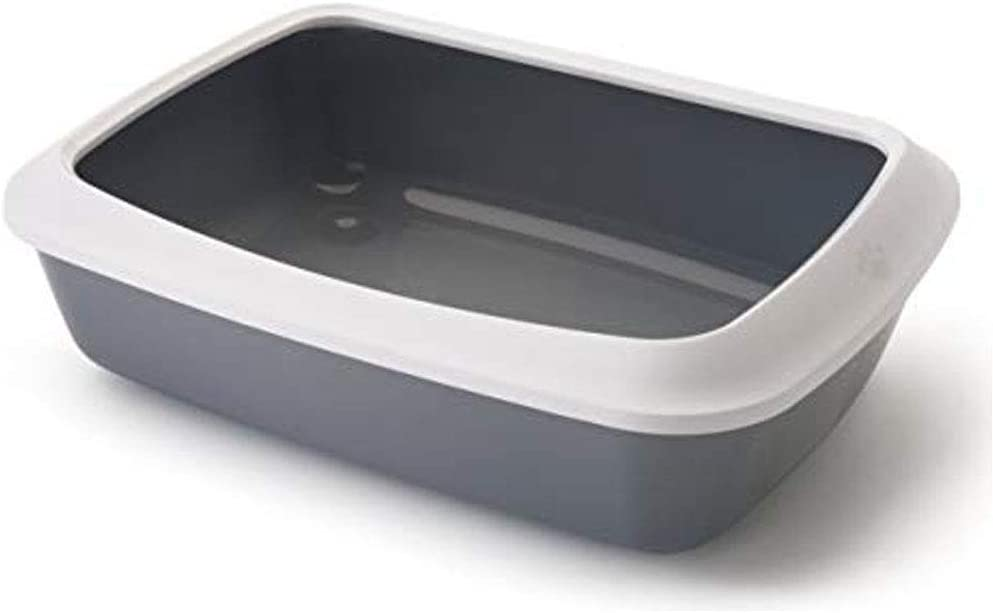 Global Arenero con Marco para Gatos Iriz | Bandeja de Arena 42 cms | Caja de Arena WC para Gatos