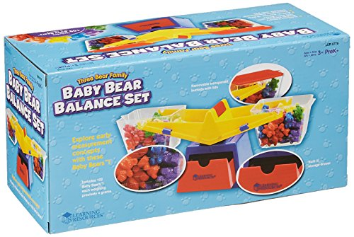 Learning Resources Baby Bear Balance Set, Weights & Counters