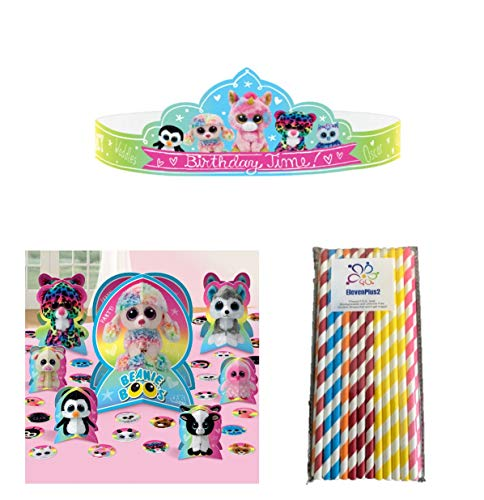 Beanie Boos Birthday Party Fun Decorating Pack, Includes
