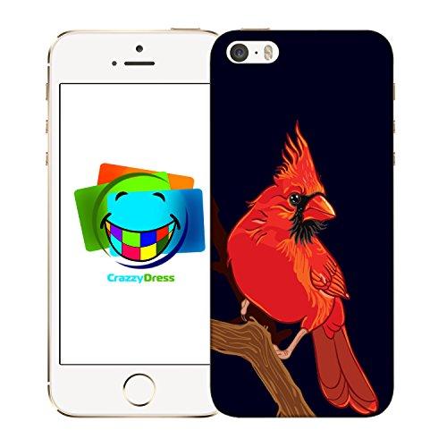 Bralexx 9211#_iPhone_5_5S_Birds_4 Schutzhülle für Apple iPhone 5/5S
