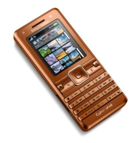 Sony Ericsson K770i UMTS Handy (Triband, MP3-Player) Henna Bronze