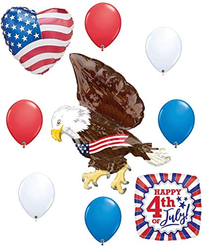 Eagle Patriotic 4th of July Flag Balloon Party