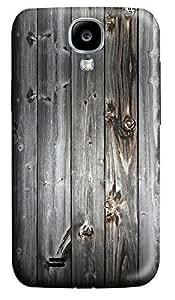 Samsung S4 Case Gray wood 3D Custom Samsung S4 Case Cover