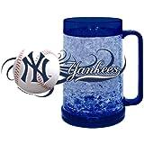 New York Yankees Full Color Crystal Freezer Mug - Hunter