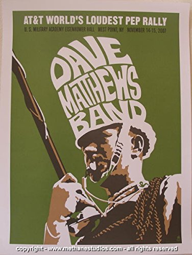 2007 Dave Matthews Band - WP Giveaway Concert Poster by (2007 Concert Poster)