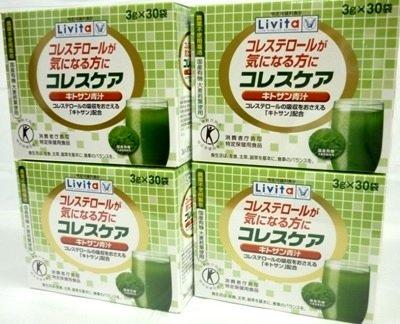 <お得な4個パック>コレスケアキトサン青汁 3g×30袋入り×4個 B00Y6EOXH2