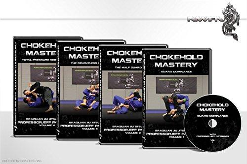 Brazilian Jiu Jitsu Chokehold Mastery By Jeff Patterson (black)