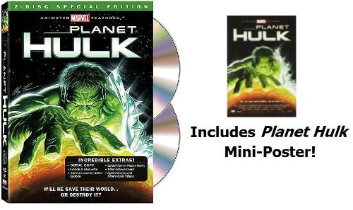 Planet Hulk (2-Disc Special Edition with Mini-Poster) (Hulk Series Planet)