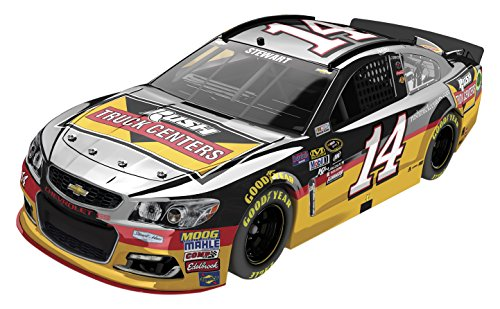 Lionel Racing Tony Stewart #14 Rush Truck Centers 2016 Chevrolet SS NASCAR Diecast Car (1:24 Scale), Chrome by Lionel Racing
