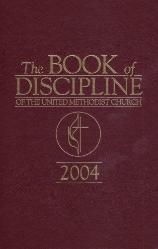 Book of Discipline 2004 English Red (Book Methodist)