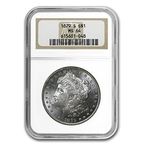 1879 S Morgan Dollar MS-64 NGC $1 MS-64 NGC