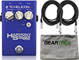 TC Helicon 996371001 Harmony Singer 2 Vocal Effects Pedal w/ Geartree Cloth and 2 XLR Cables