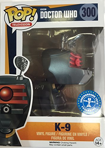 Funko POP! TV Doctor Who K-9 Exclusive #300 BBC Vinyl Figure