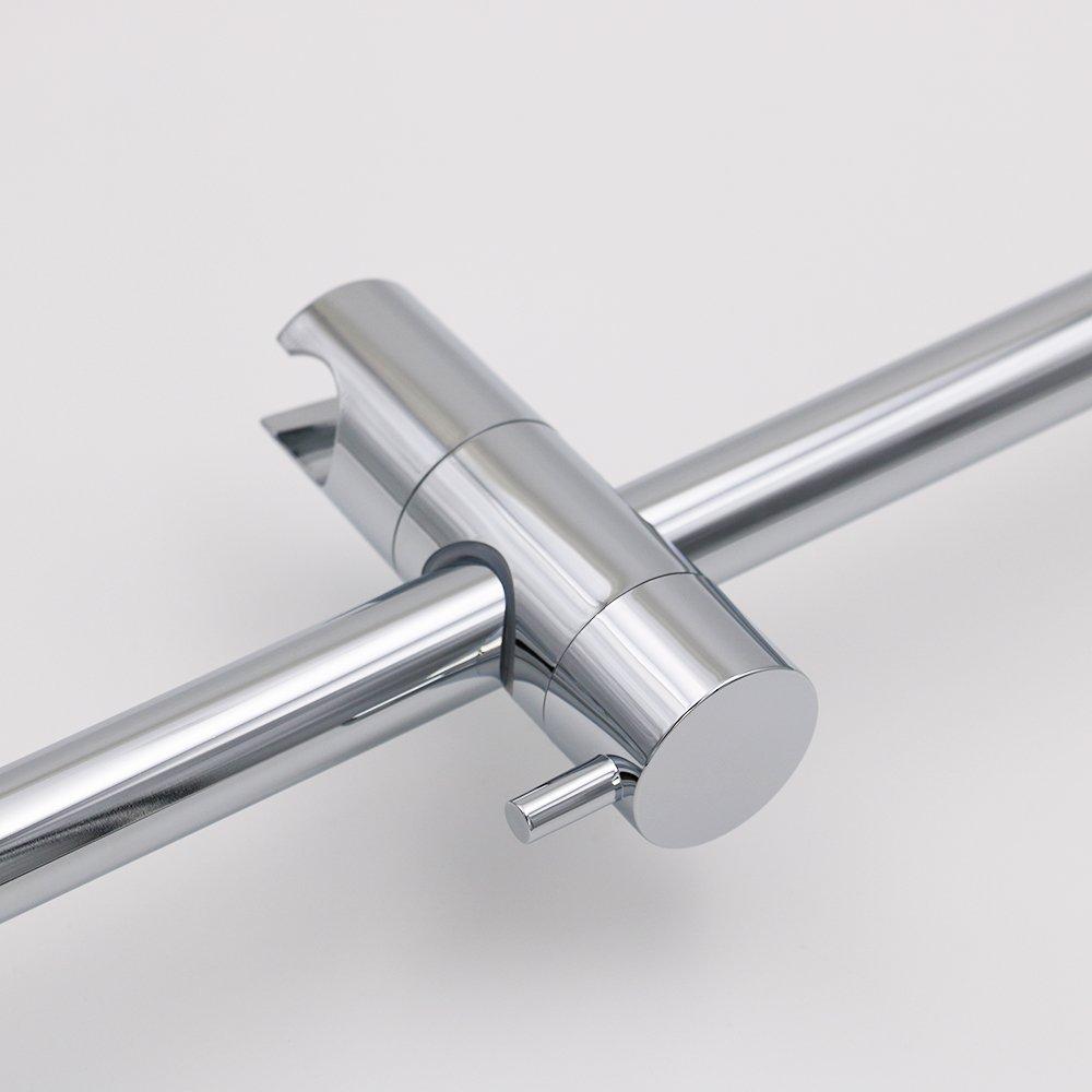 boen f102 hand shower slide bar with height adjustable sliding sprayer holder 608473434249 ebay. Black Bedroom Furniture Sets. Home Design Ideas